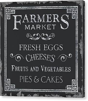 Farmers Market Canvas Print by Debbie DeWitt