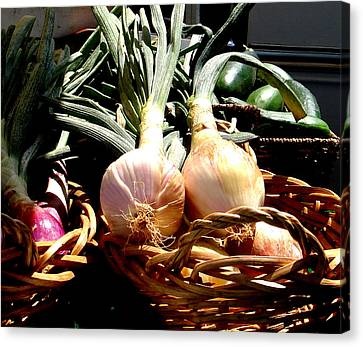 Farmer's Market Still Life Canvas Print