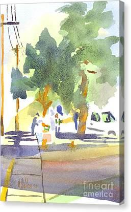 Farmers Market Vi Canvas Print by Kip DeVore