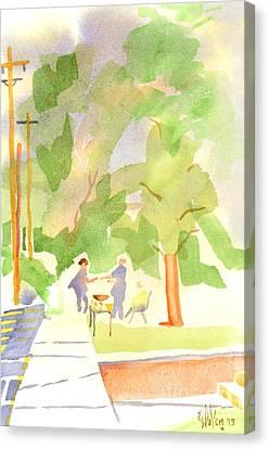 Farmers Market Vll Canvas Print by Kip DeVore