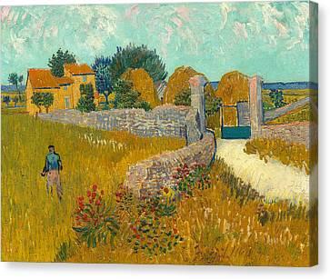 Farmhouse In The Provence Canvas Print