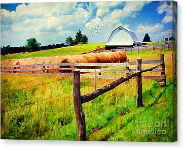 Farming Canvas Print by Darren Fisher
