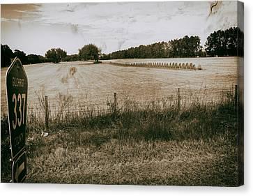 Farming Canvas Print