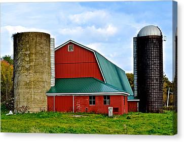 Farming Canvas Print by Frozen in Time Fine Art Photography