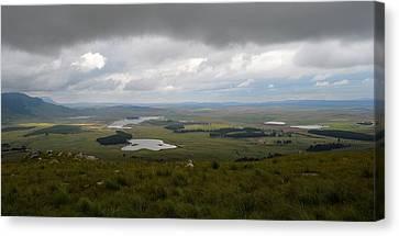 Farms - Drakensberg Range - South Africa Canvas Print