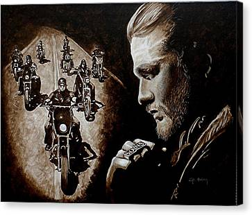 Farewell To The Outlaw Canvas Print