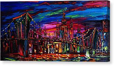 New York Canvas Print by Willson Lau