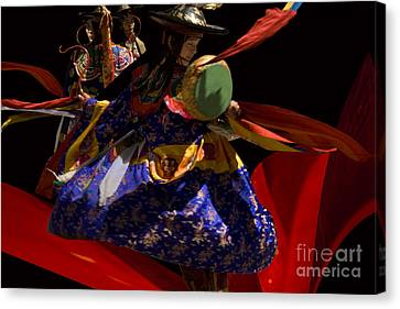 Canvas Print featuring the digital art Fasre Faster by Angelika Drake