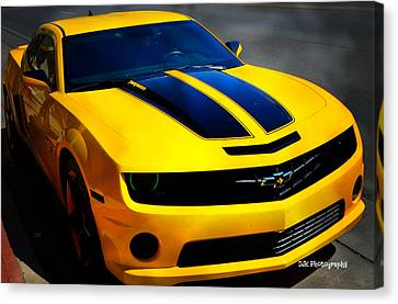 Fast Cars Canvas Print