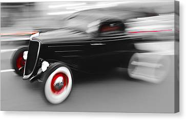 Fast Ford Hot Rod Canvas Print by Phil 'motography' Clark