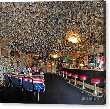 Fat Smittys Interior Canvas Print by Gregory Dyer