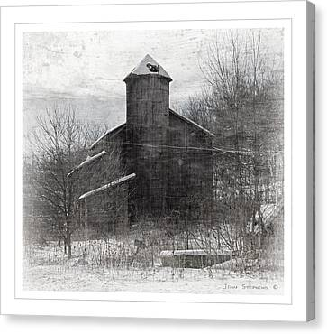 Fate Of The Family Farm Canvas Print by John Stephens
