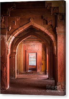 Fatehpur Sikri Entrance Canvas Print