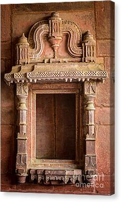 Fatehpur Sikri Niche Canvas Print