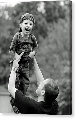 Father And Son IIi Canvas Print by Lisa Phillips