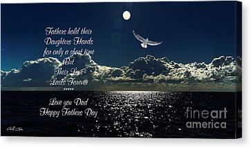 Fathers Day 2014 Canvas Print by Geoff Childs