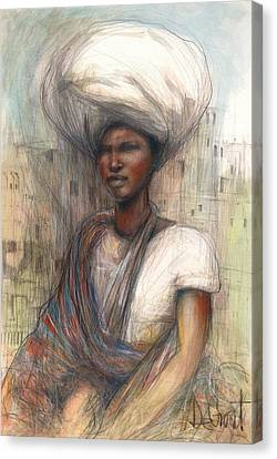 Fatima Canvas Print by Gregory DeGroat