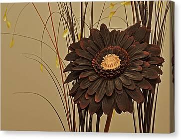 Faux Flora Canvas Print
