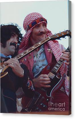 Favorite Of Manny Charlton And Zal Cleminson - Nazareth At Day On The Green 2 - 4th Of July 1979  Canvas Print