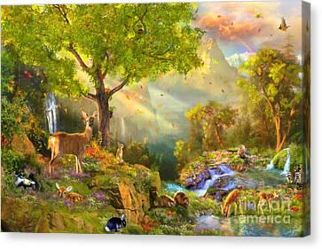 Fawn Mountain Canvas Print by Aimee Stewart