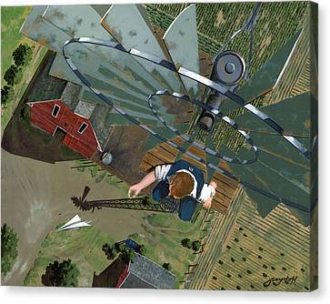Fearless Canvas Print by John Wyckoff