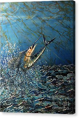 Fearless  Canvas Print by Sue Duda