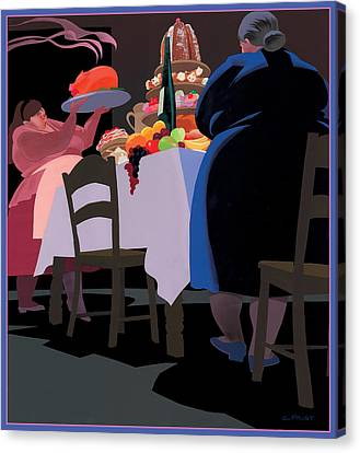 Feast Canvas Print by Clifford Faust