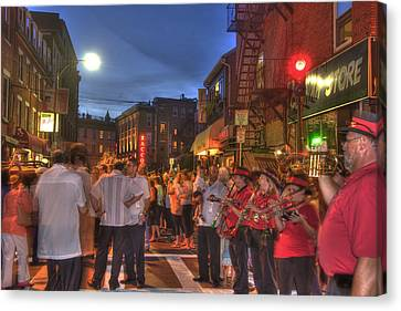 Feast Of Saint Anthony - Boston North End Canvas Print by Joann Vitali