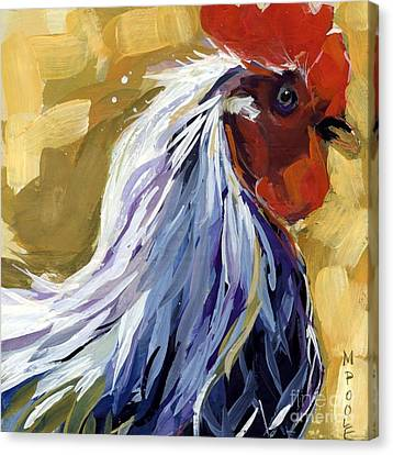 Farm Life Canvas Print - Feather by Molly Poole