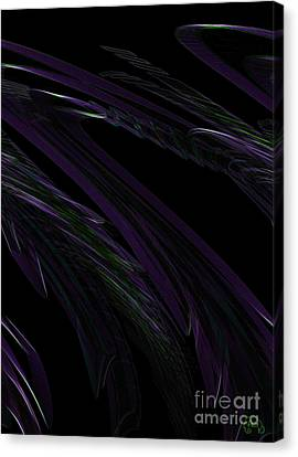 Feathered Canvas Print by Patricia Kay