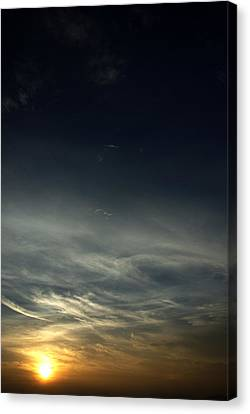 Feathery Clouds Canvas Print by Rajiv Chopra