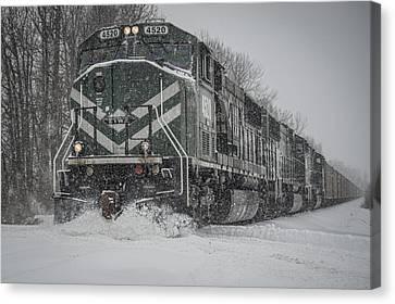 February 16. 2015 - Evwr 4520 Canvas Print by Jim Pearson