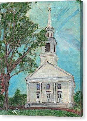 Federated Church Canvas Print