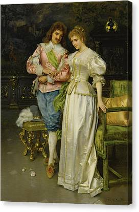 Betrothed Canvas Print - Betrothed by Federico Andreotti