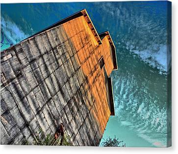Feed And Grain Canvas Print by Tom Druin