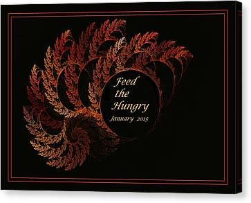 Grocery Store Canvas Print - Feed The Hungry by Doug Morgan