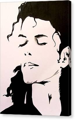 Michael Jackson Canvas Print by Gopal Maheshwari