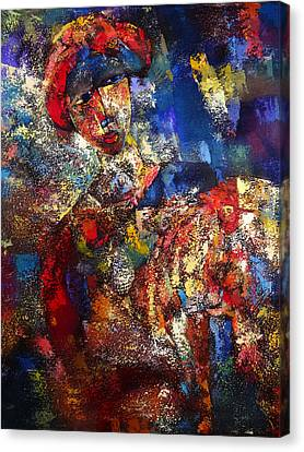 Feel Like Chicken Tonigt Canvas Print by Ronex Ahimbisibwe
