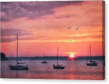 Clayton Canvas Print - Feel The Sky by Lori Deiter