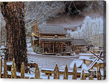 Feel The Warmth Canvas Print by Brenda Bostic