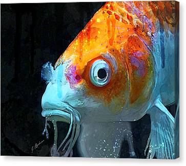 Feeling Koi Canvas Print by Gary Bodnar