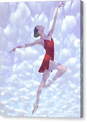 Feels Like Heaven Canvas Print by Steve K
