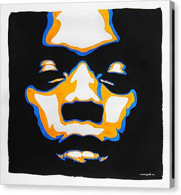 Fela. The First Black President. Canvas Print
