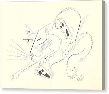 Felis Notsodomesticus Canvas Print by Melinda Dare Benfield