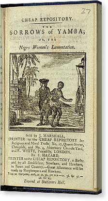 Female Slave Canvas Print by British Library