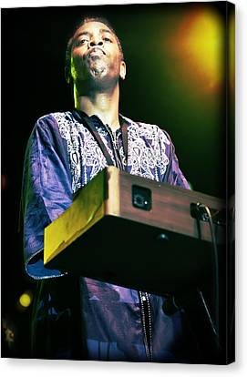 Femi Kuti Live In Concert Canvas Print by Jennifer Rondinelli Reilly - Fine Art Photography