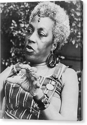 Overalls Canvas Print - Feminist Florynce Kennedy by Underwood Archives