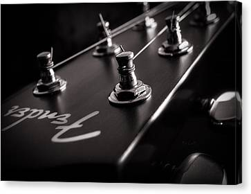 Fender Acoustic I Canvas Print by Bob Orsillo