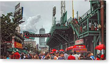 Fenway Bustle Canvas Print