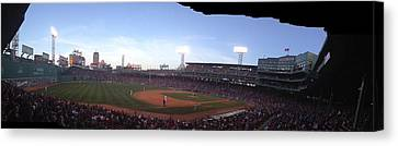 Fenway Canvas Print by Jim Keller